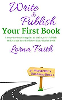 Write and publish your first book cover