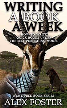 Writing a book a week cover