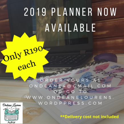 Author Planner ad with price