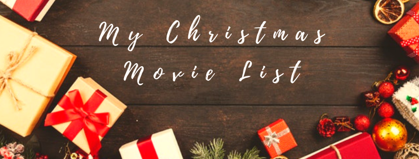 Author My Christmas Movie List