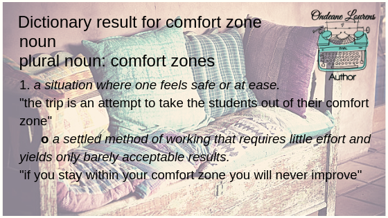 Dictionary result for comfort zone noun