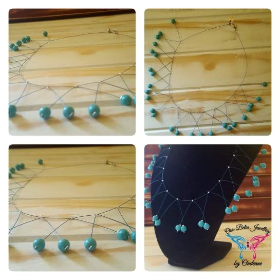 December Birthstone necklace - Turquoise R80 1