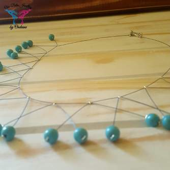 December Birthstone necklace - Turquoise R80 2