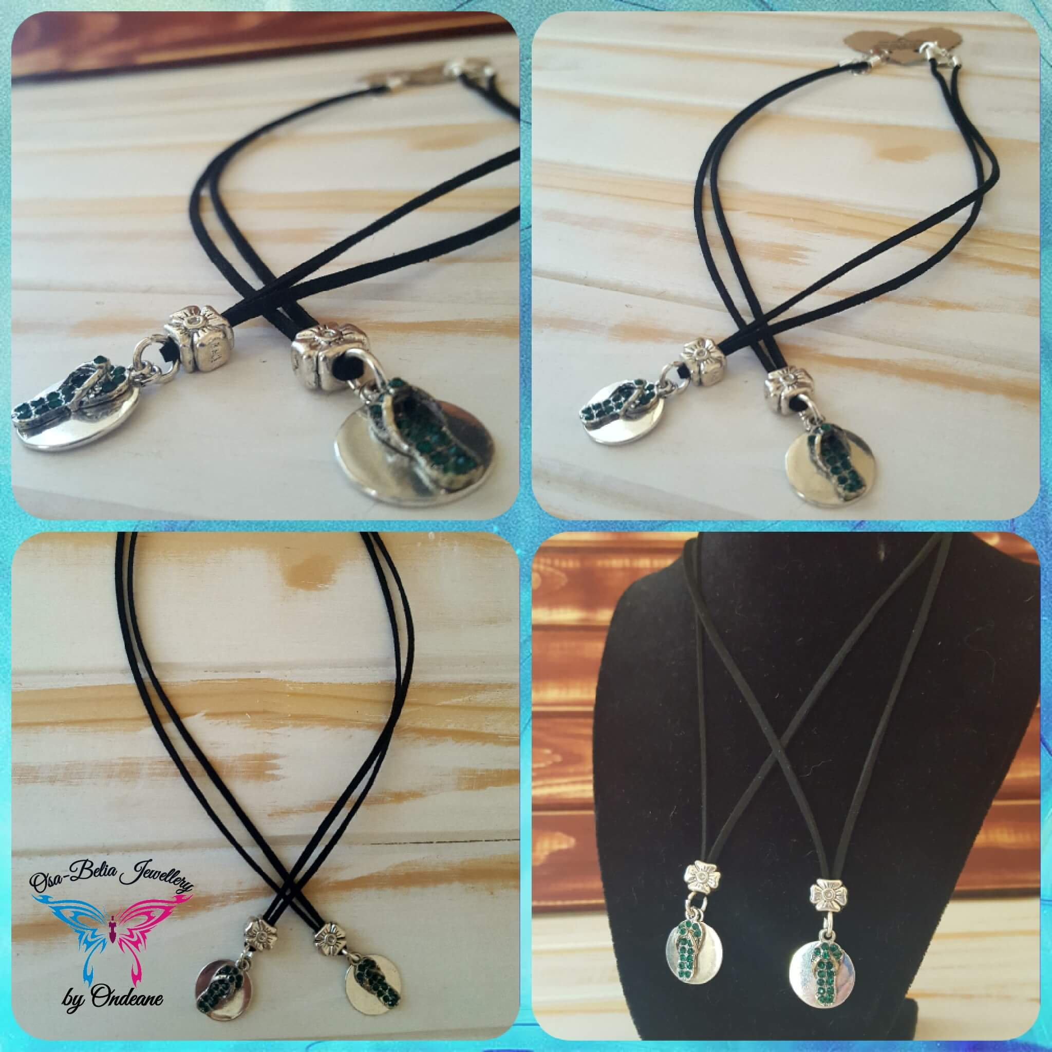 Friendship Sandals Necklace set R100 1