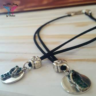 Friendship Sandals Necklace set R100 2