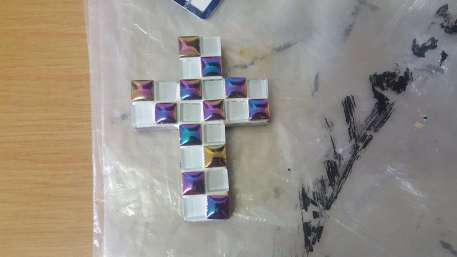 Simple Mosaic cross 23