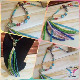 Spring in colour necklace 1