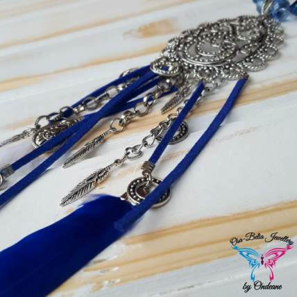 Tribal Blue Necklace 1