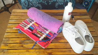 Author - How to - Sharpie Takkie Craft Project 1