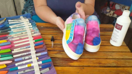 Author - How to - Sharpie Takkie Craft Project 15
