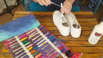 Author - How to - Sharpie Takkie Craft Project 5