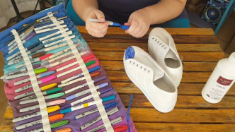 Author - How to - Sharpie Takkie Craft Project 7