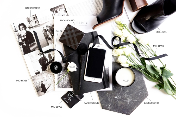 Barely-there-beauty-blog-props-flatlay-photography-styling-digital-detox-tips