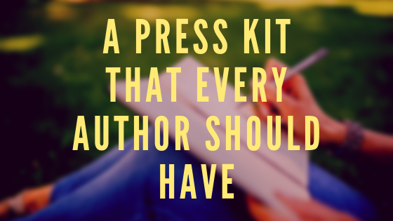 Author blog A Press Kit That Every Author Should Have