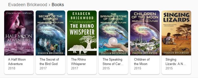 Evadeens books